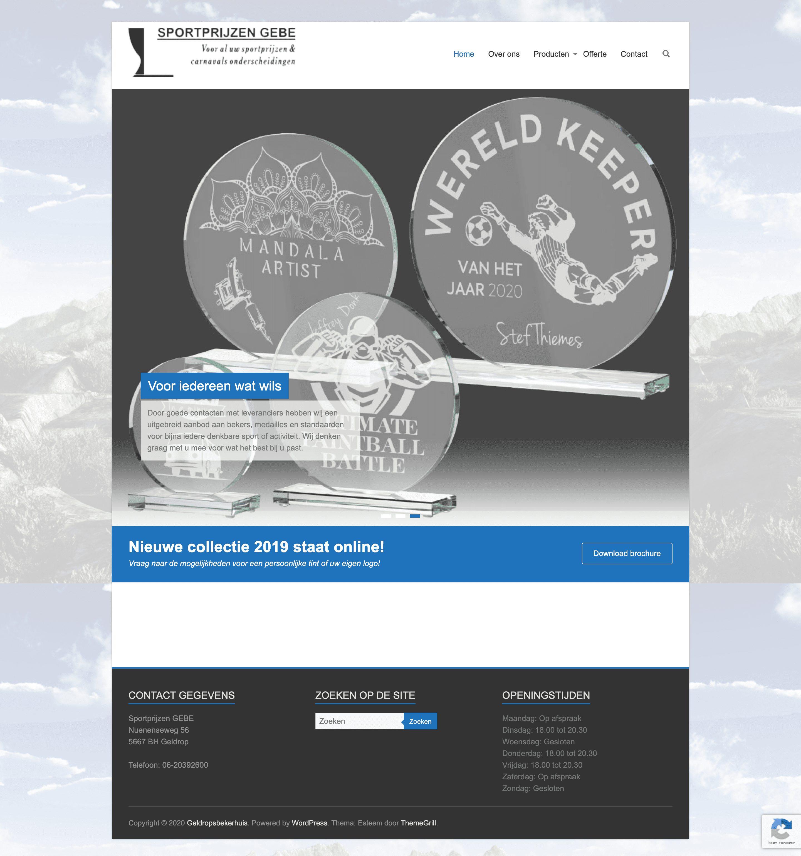 Website Bekerhuis Geldrop