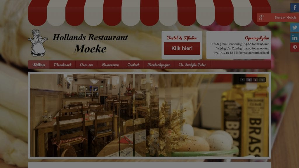 Hollands Restaurant Moeke
